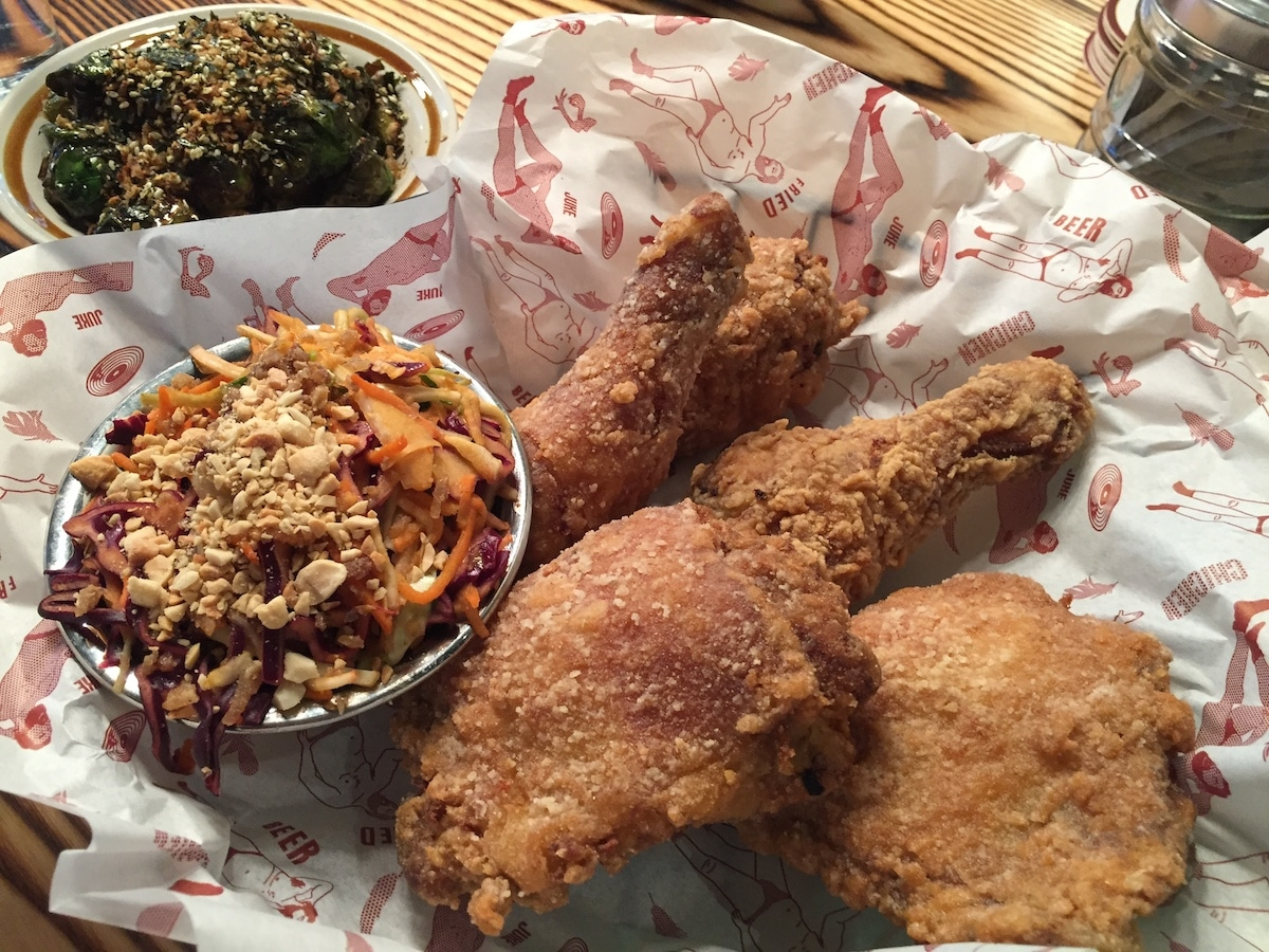 Fried chicken at Juke in Chinatown | Photo: Carolyn Heller