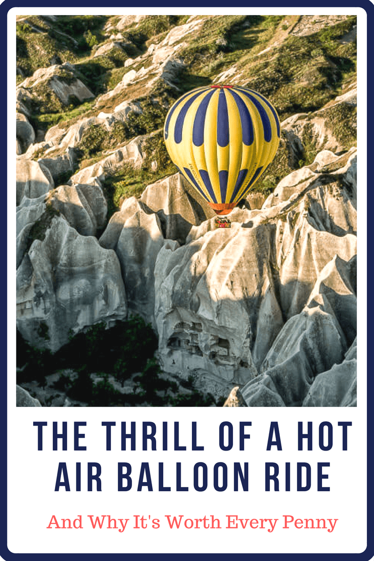 Why you should go on a hot air balloon ride. Where to go, what to expect, and why it's worth every penny