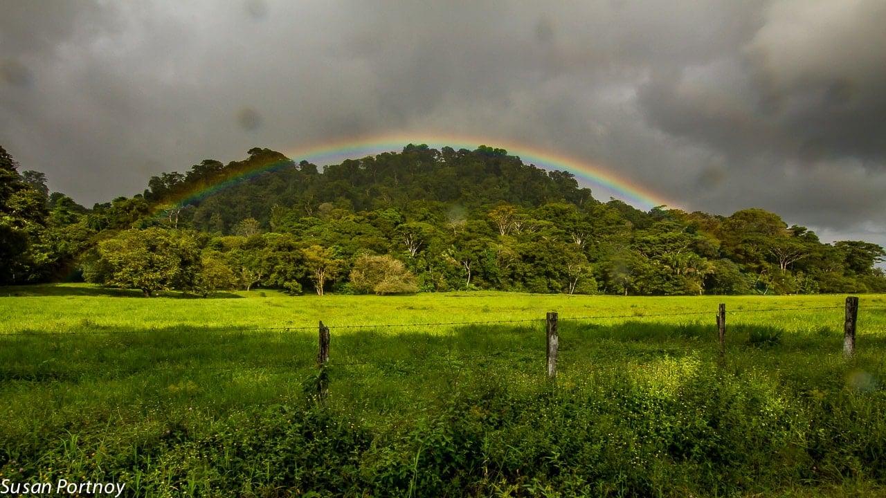 Rainbow in Costa Rica