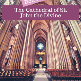 The Cathedral of St. John the Divine