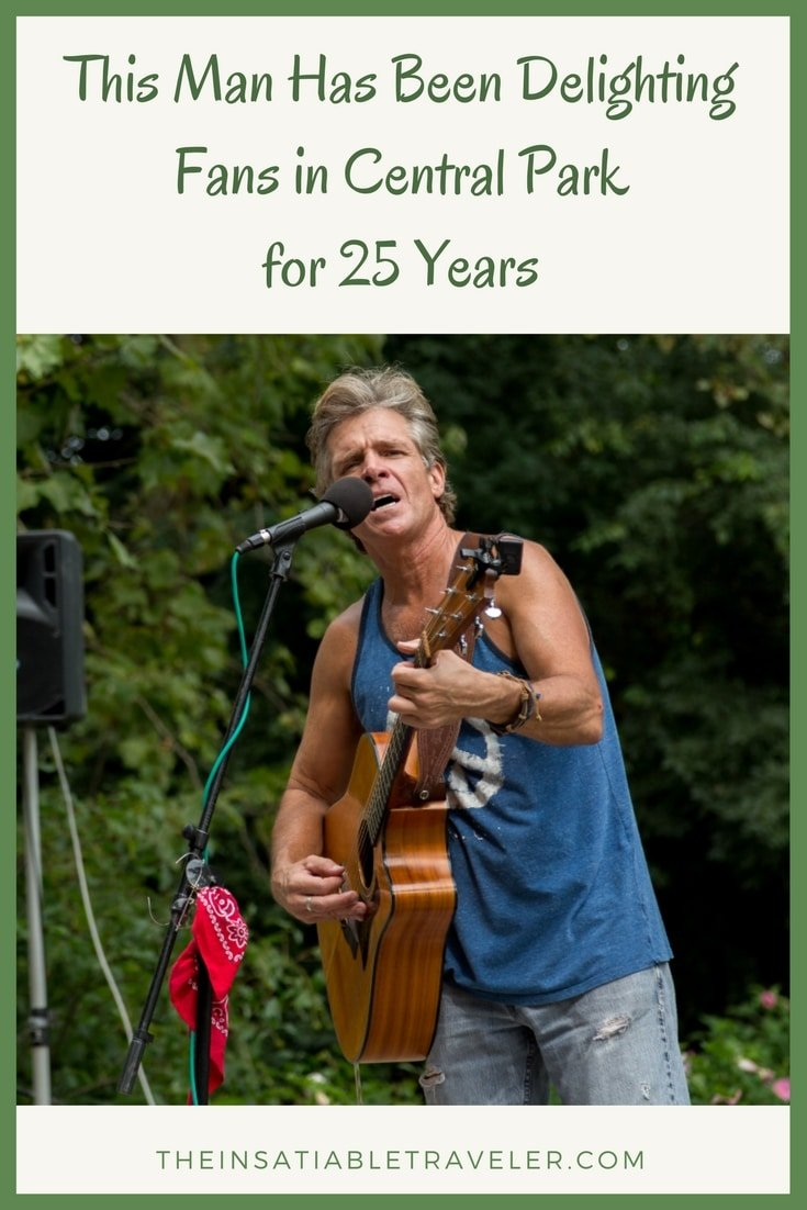 If you're in Central Park on a summer Saturday, do yourself a favor and check this guy out. You might find yourself spending the afternoon. (1)