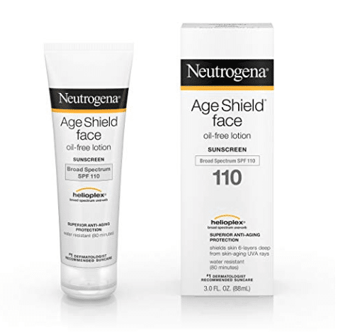Travel Beauty Essentials You Can Buy at the Drugstore - Neutragena Age Face Shield