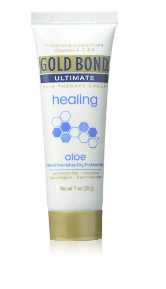 Travel Beauty Essentials at Drugstore Prices - Gold Bond Ultimate Ultimate Healing Lotion, Aloe 1 oz (Pack of 2)