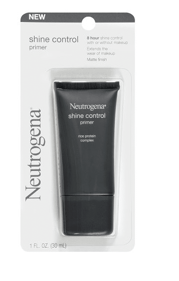 Travel Beauty Essentials at Drugstore Prices - Neutrogena Shine Control Primer, 1 Ounce