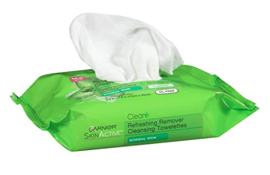 Garnier SkinActive Clean + Refreshing Remover Cleansing Towelettes 25 ea -