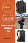 Gura Gear new Kiboko Dslr backpack line