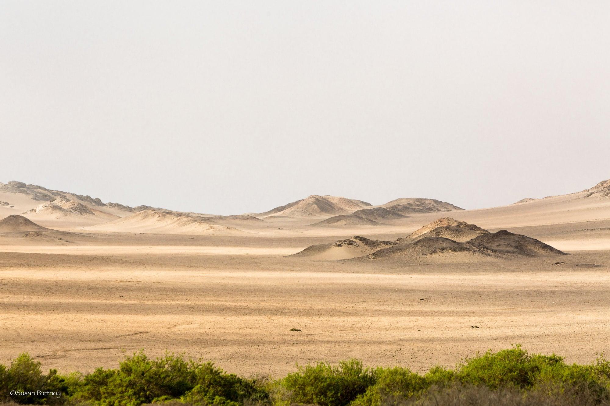 Dunes on the way to the Skeleton Coast