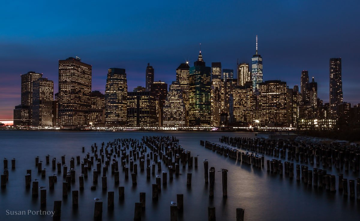 Where To Photograph Stunning Views Of The New York City Skyline At Night