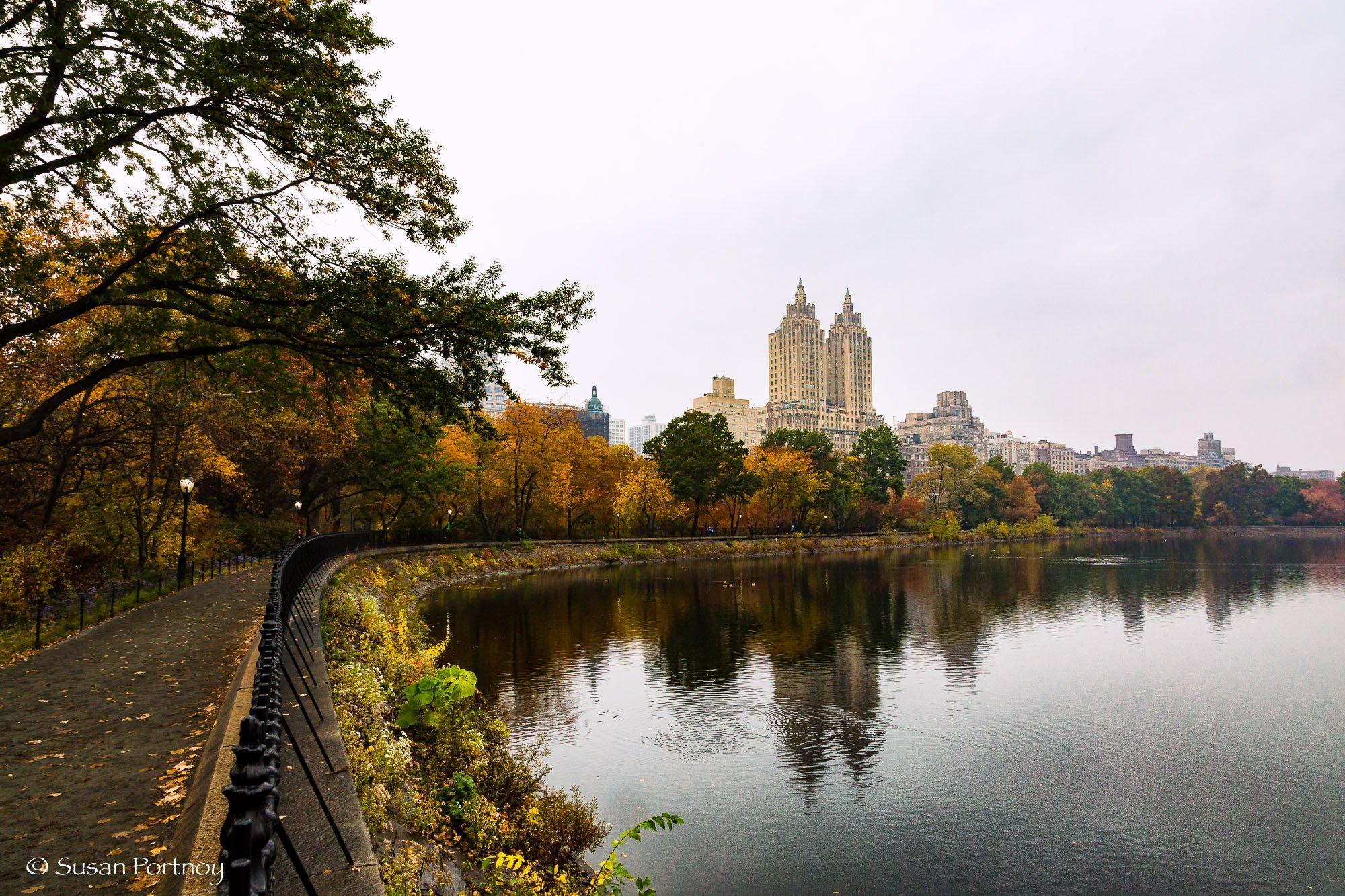 The Reservoir, in Central Park, New York