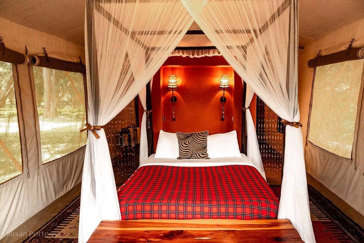 Fairmont Mara Safari Club guest tent - Kenya Wildlife Safari_-795701