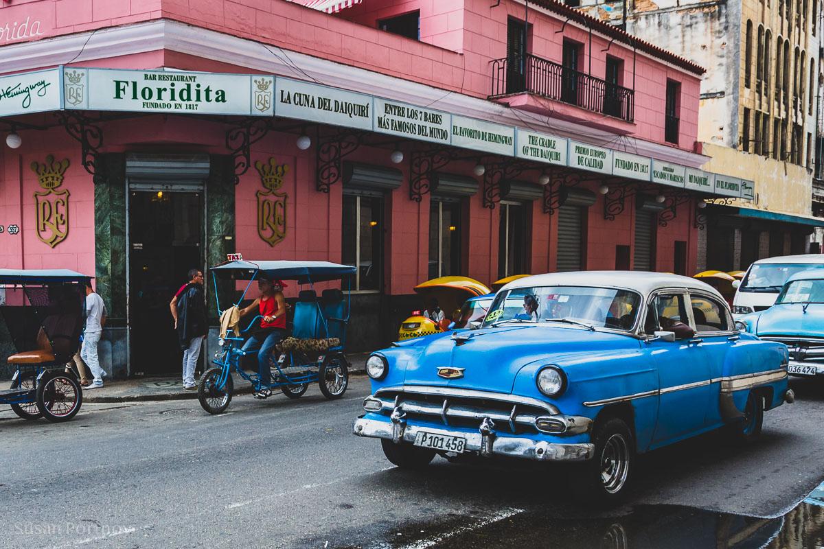 El Floridita restaurant in Havana
