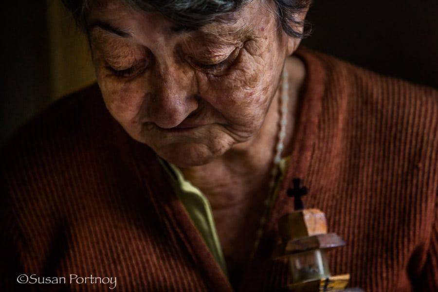 Photographing Maria Theresa in Havana Cuba
