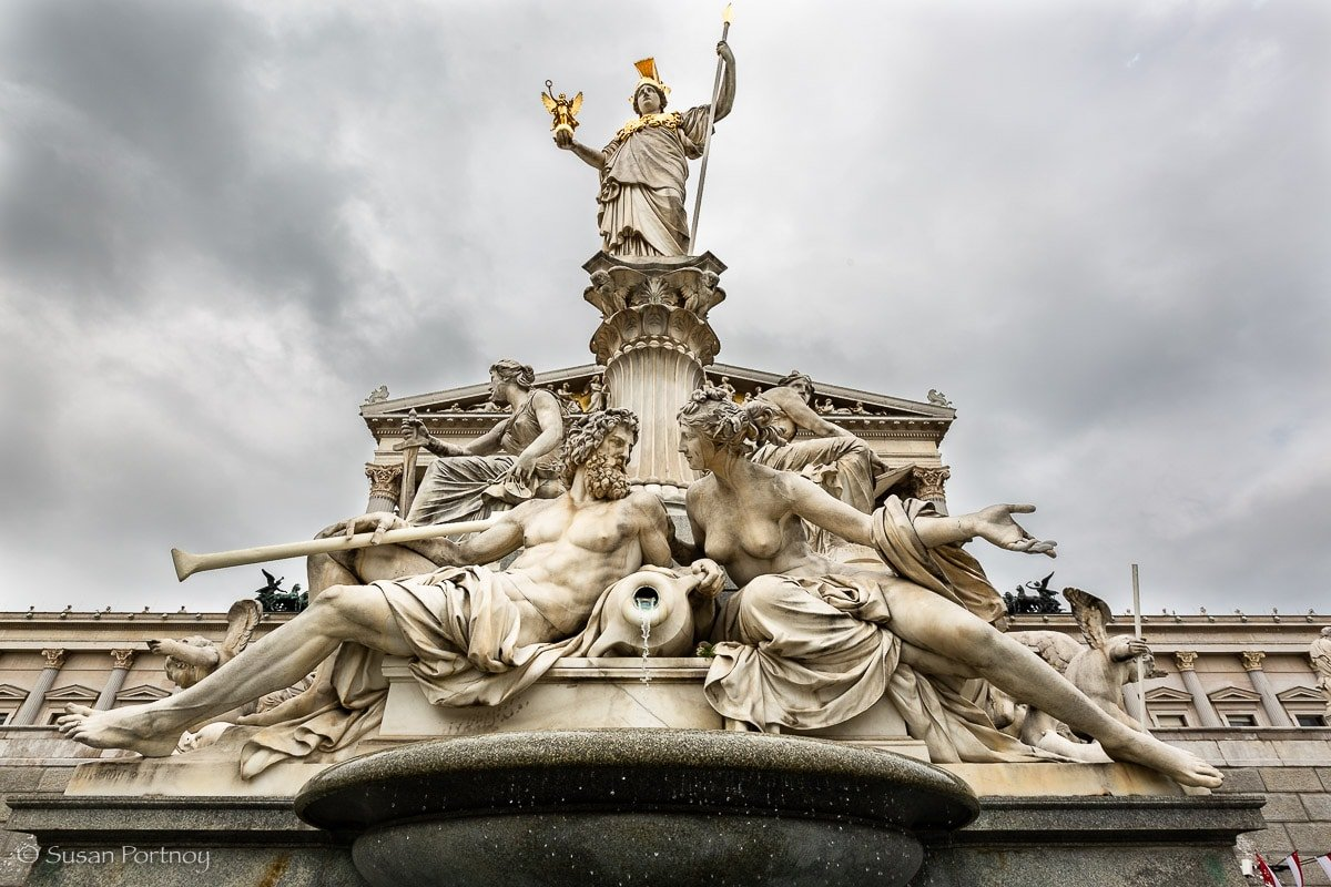 Pallas Athene Fountain - 1893