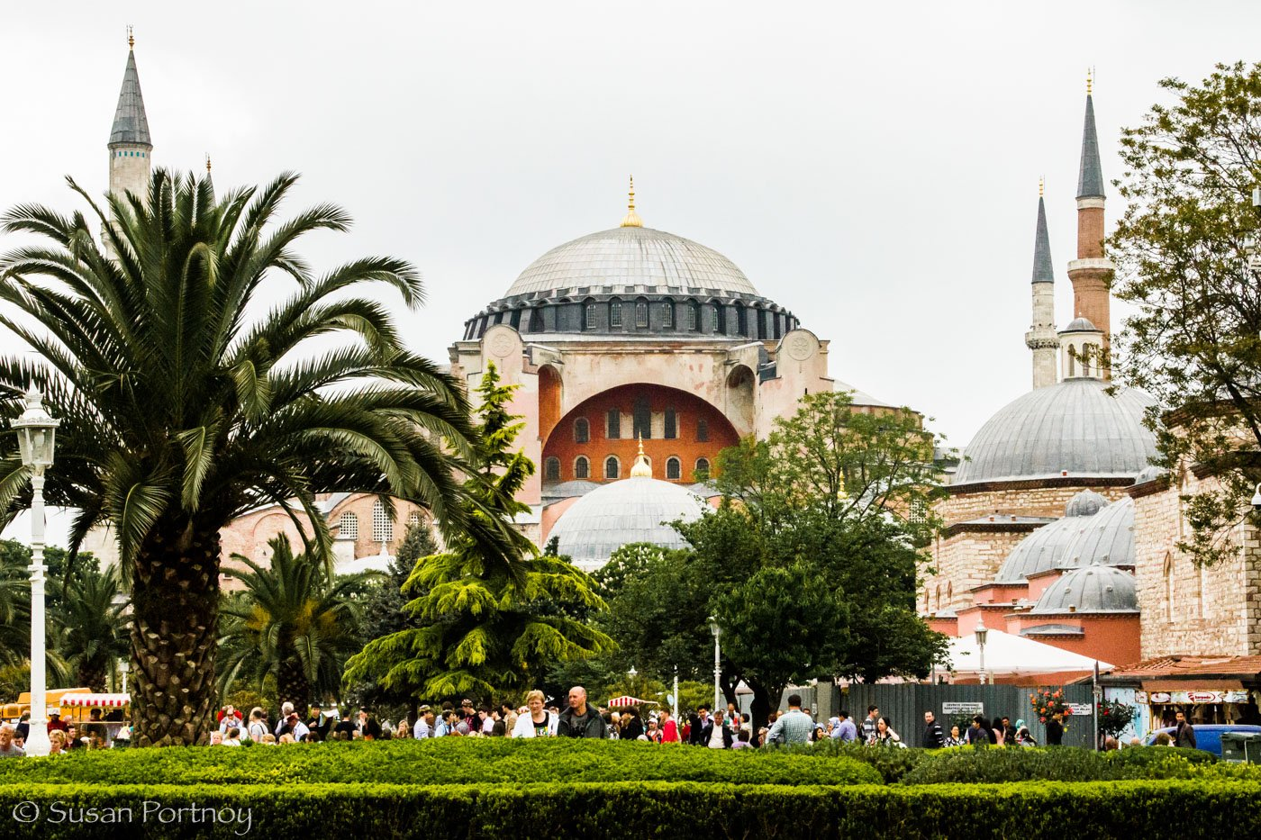 Rüstem Pasha Mosque – it's colors and designs were some of my favorite