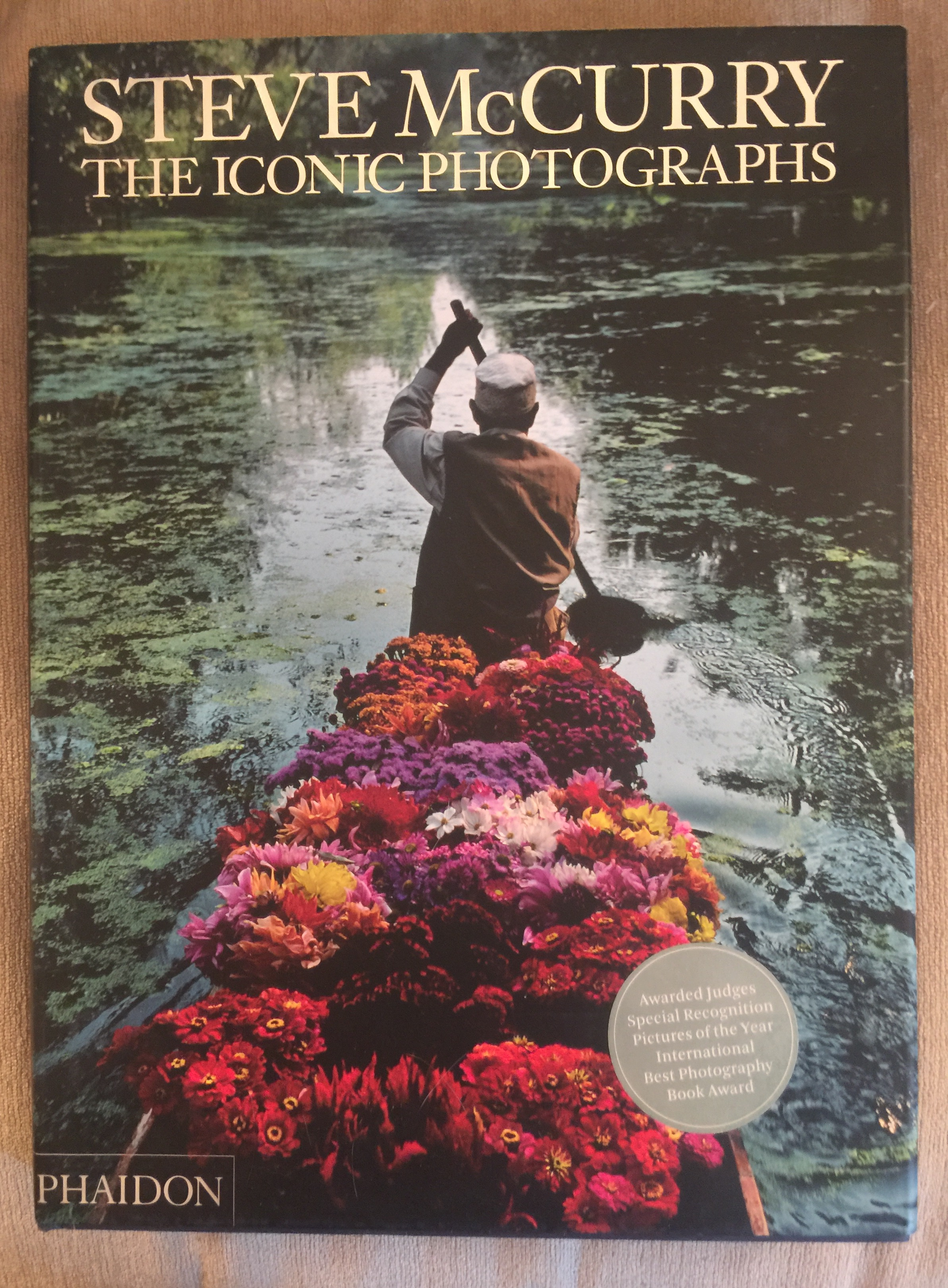 Cover of Steve McCurry's the Iconic Photographs