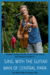 David Ippolito The Guitar Man of Central Park singing
