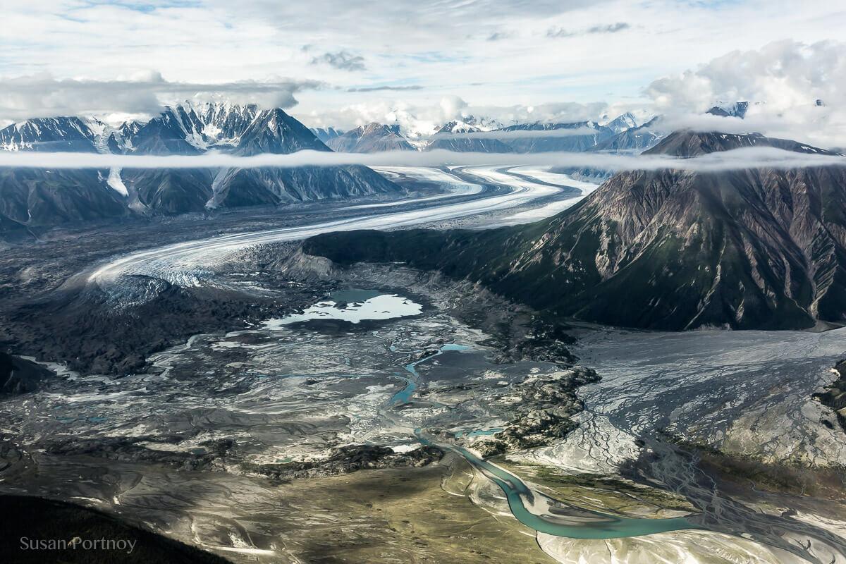 Kaskawulsh glacier in Yukon's Kulane National Park-1041