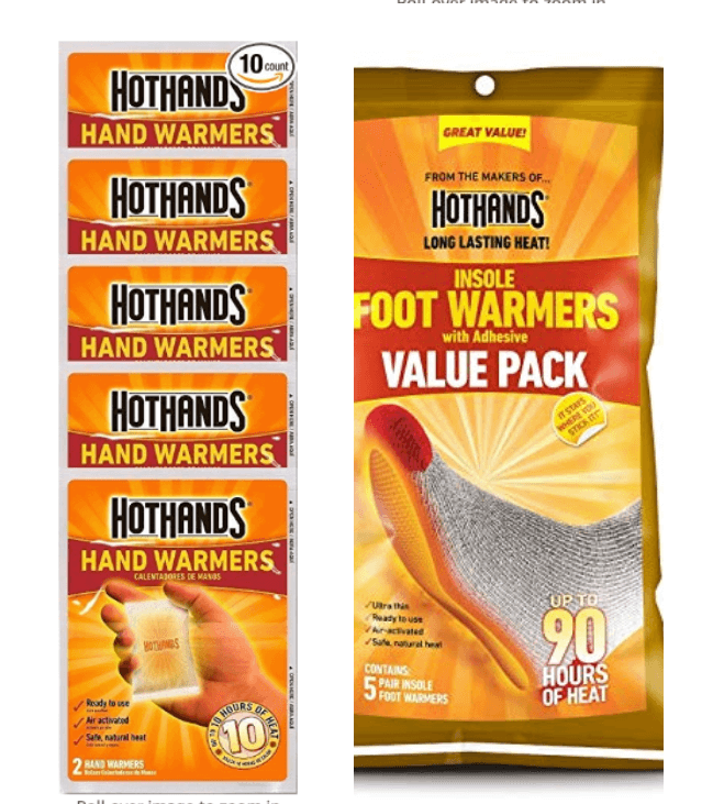 Hotwarmers hand and soul warmers