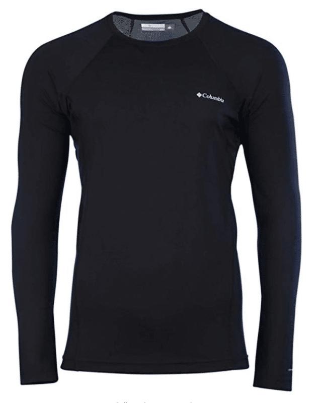 Columbia Omni-Heat Men's Midweight Stretch Baselayer Long Sleeve Shirt