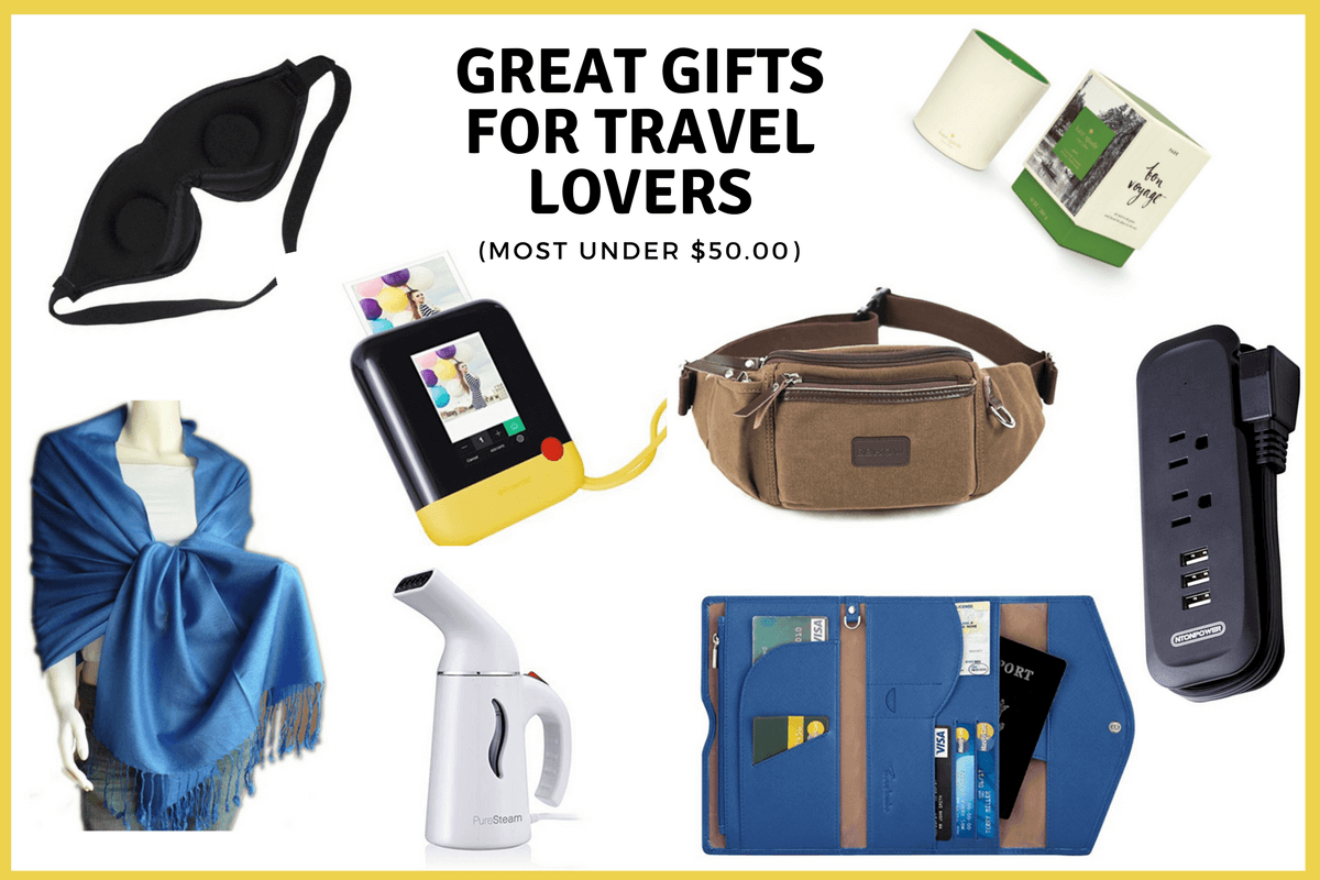 Great gifts for travel lovers most under for Good gifts for a traveler