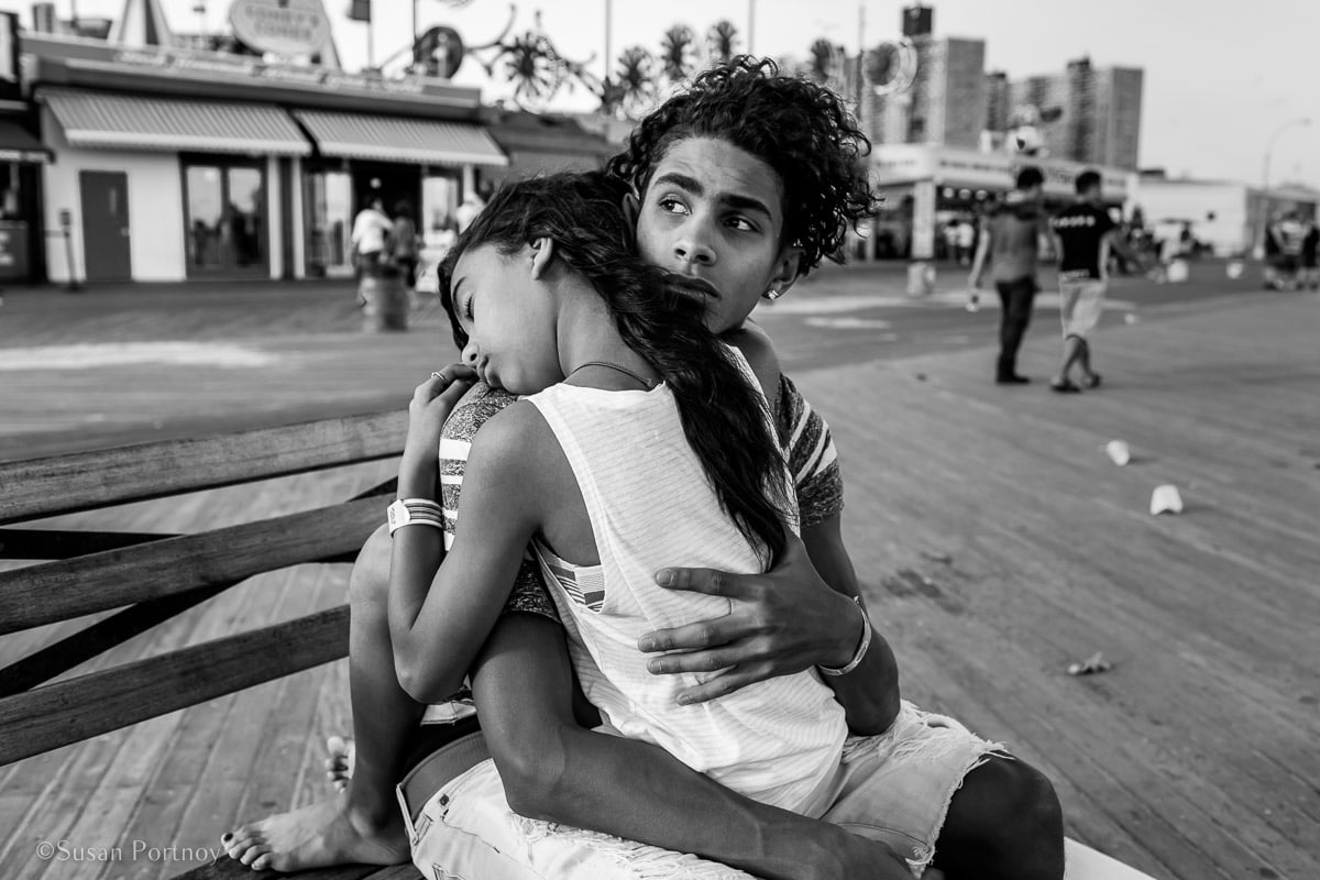 Coney Island kids | Insatiable Traveler Year -end review 2017-Peter_Turnley_Day3-_MG_56452017062201