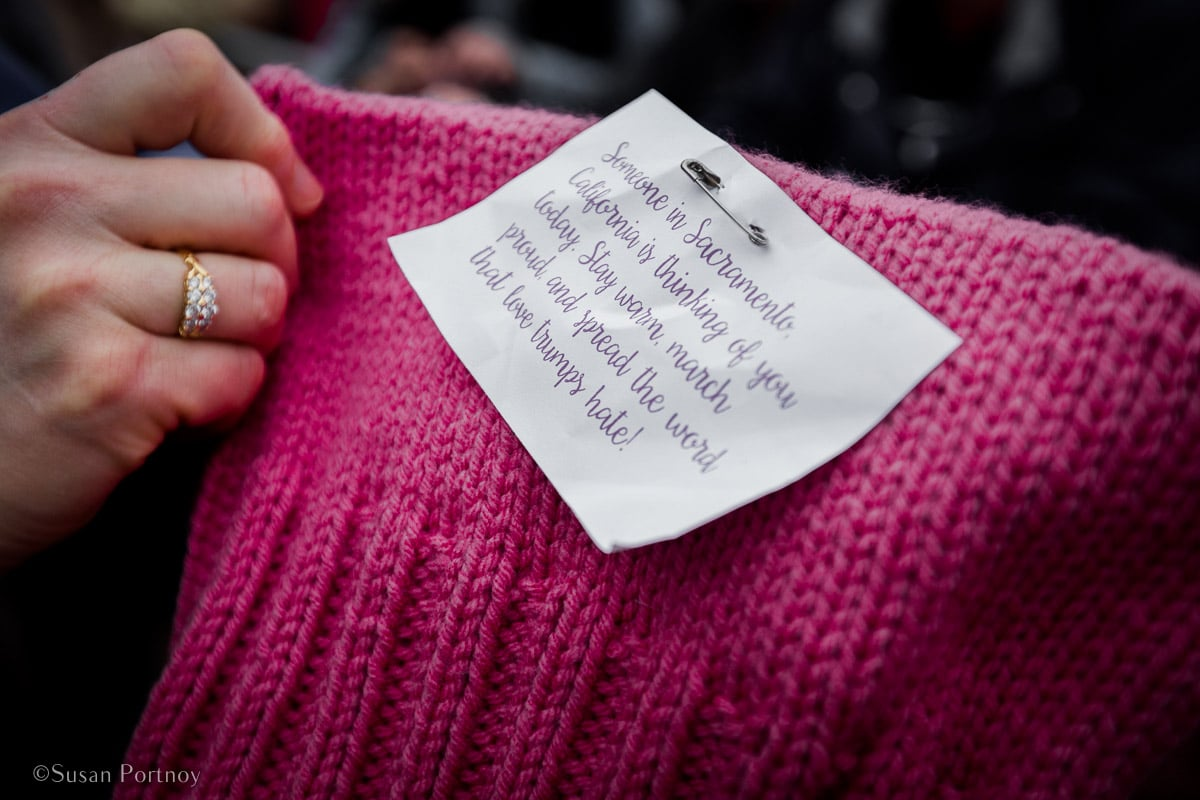 Women's March, 2017_ Insatiable Traveler Year -end review 2017-Women's March on Washington-