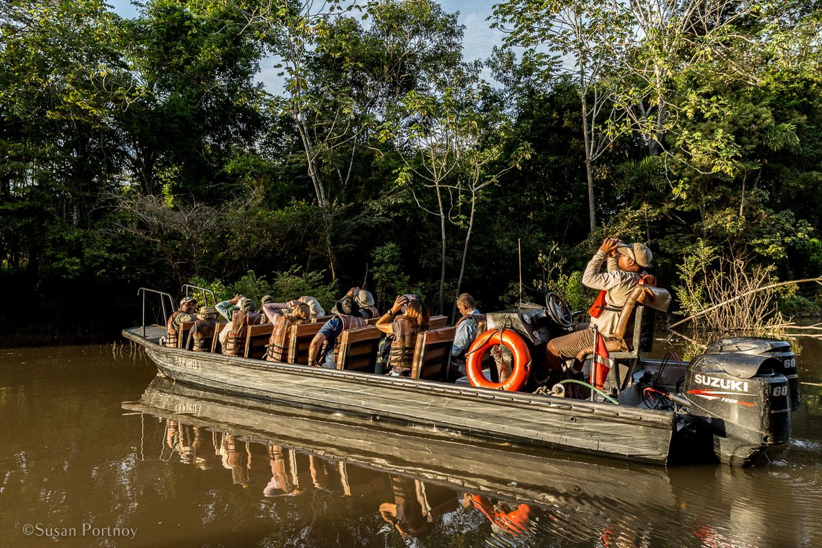 International Expeditions' skiff | Tips for Photographing Amazon Rainforest Animals-0477
