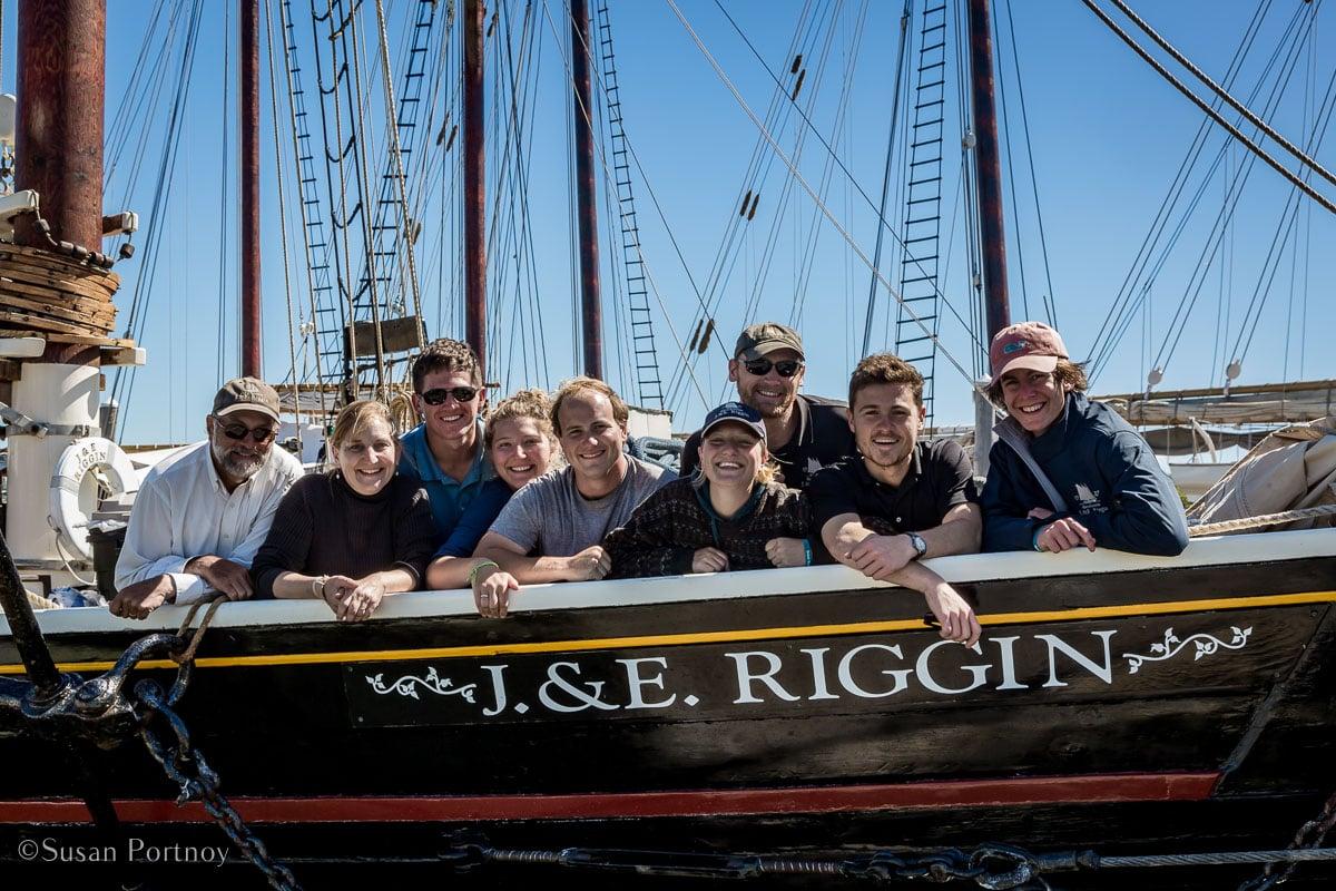The 2018 Crew of the J & E Riggin - Windjammer cruise in Maine-729120180707