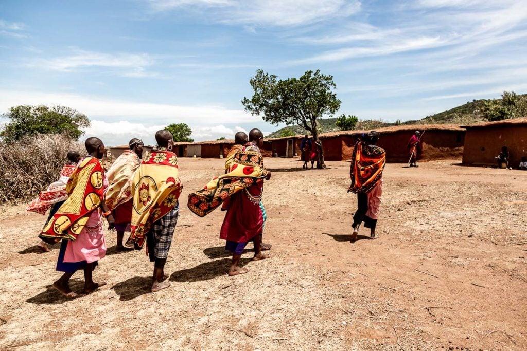 Maasai women in their manyatta - How to Experience More Beyond Kenya's Big Five -8448