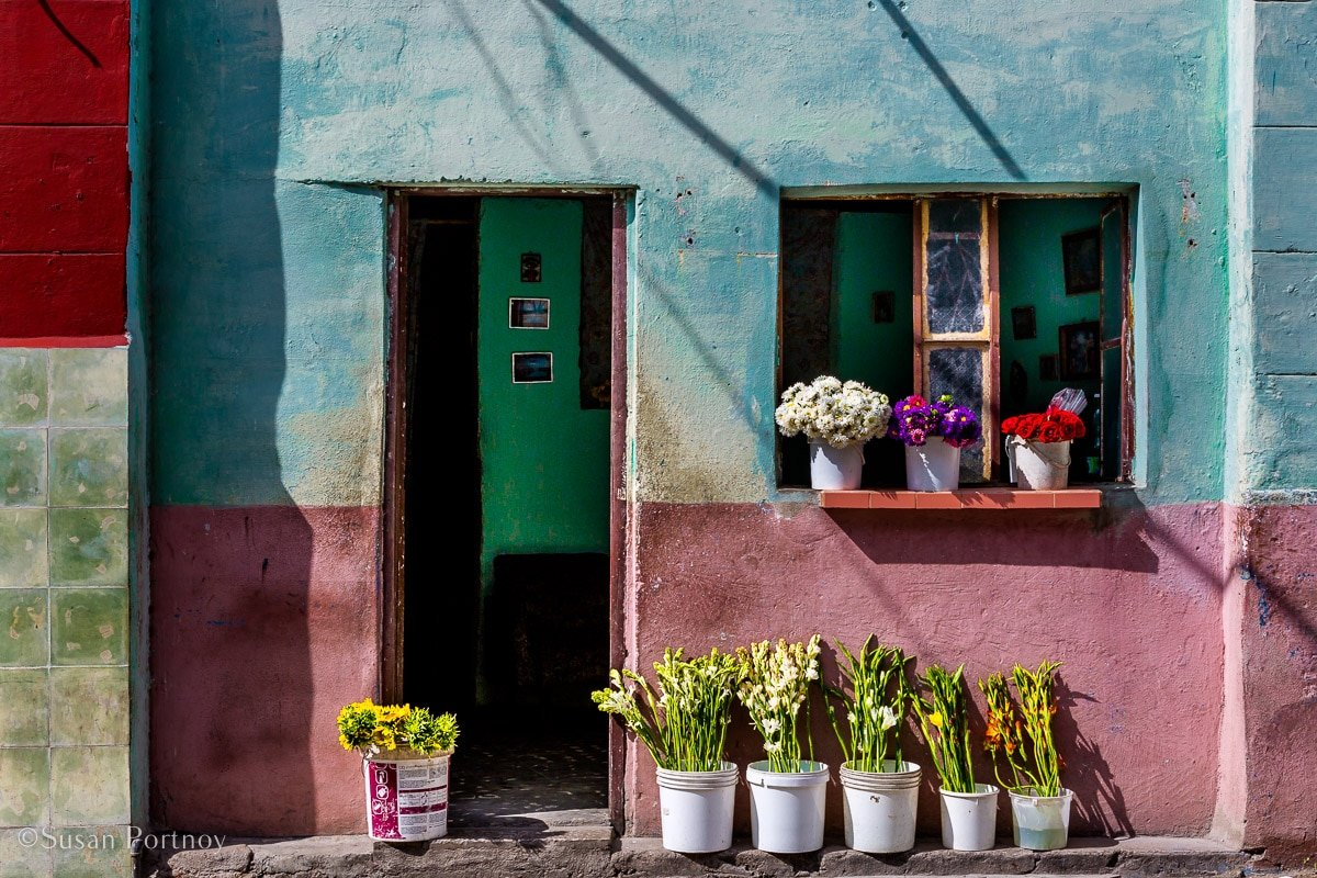A colorful home in Old Havana