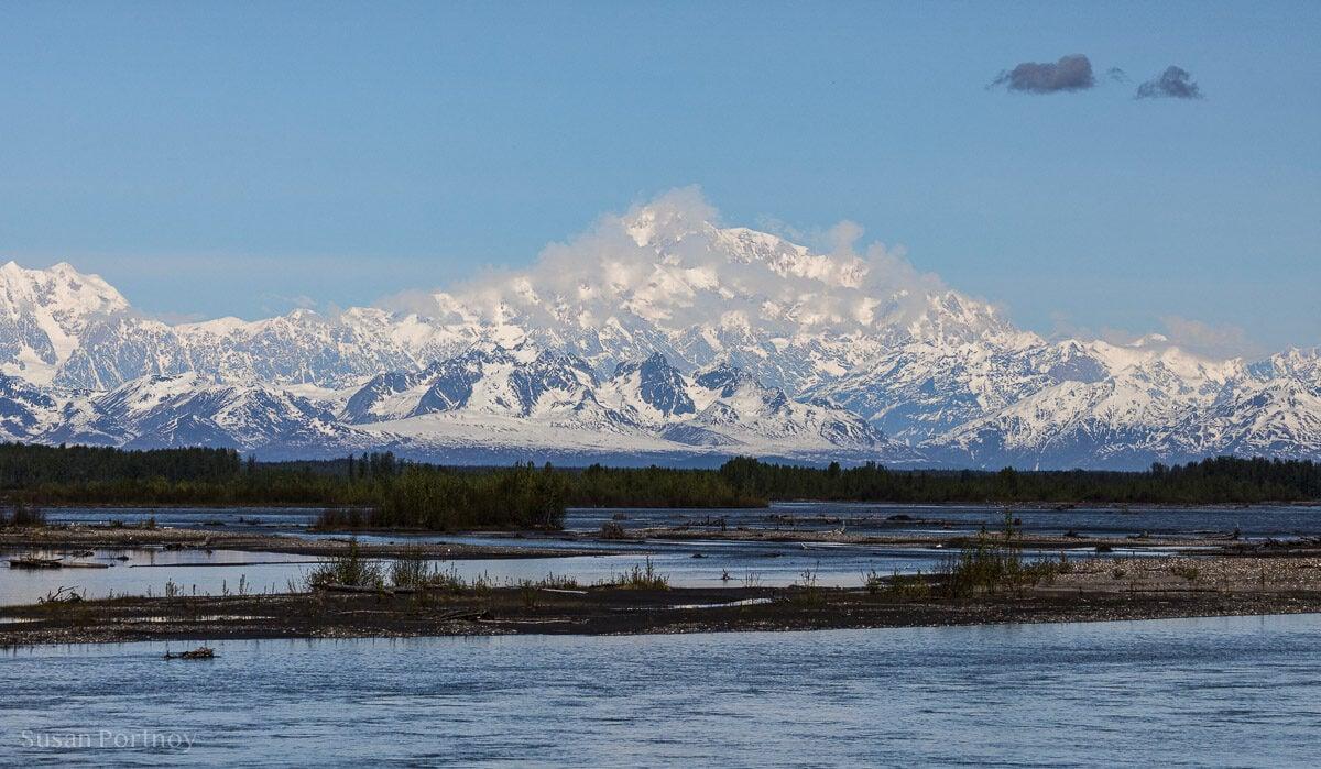 Mount Denali Holland Amercia Alaska Cruise