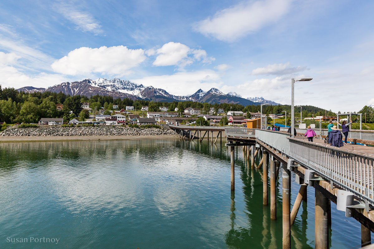 View from the ship of Haines, Alaska.  -  Lessons Learned on an Alaskan Cruise -411920180606