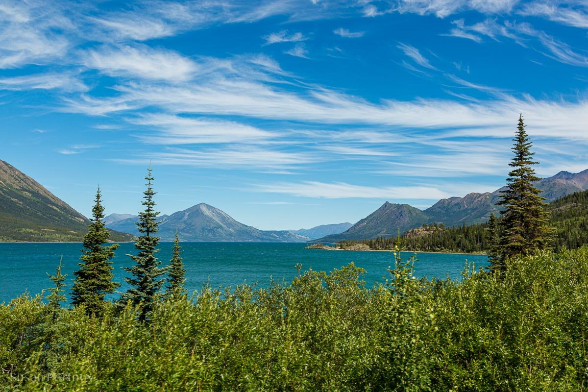 Lake Bennett in Yukon