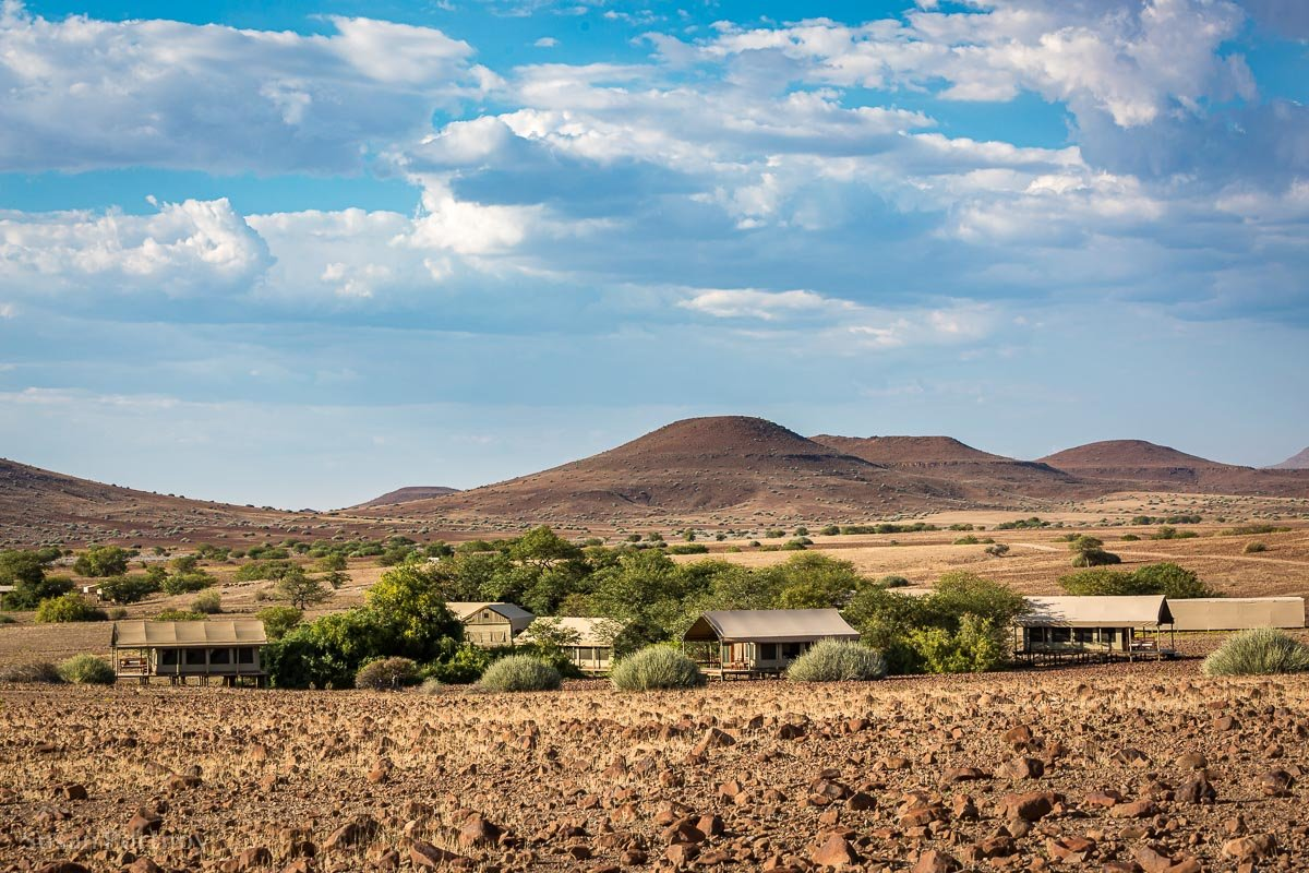 Desert Rhino Camp, Damaraland, Namibia