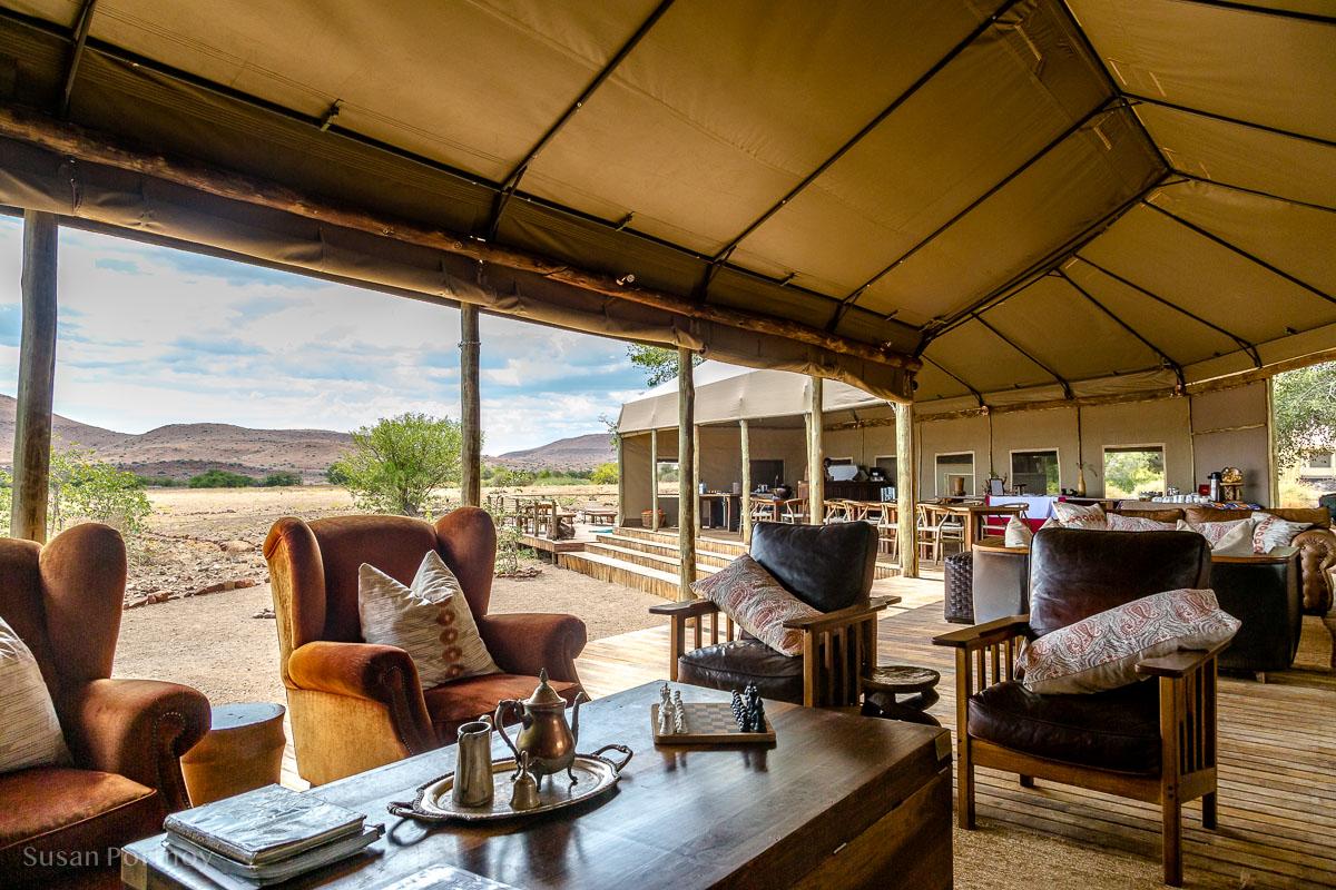 Main tent at Desert Rhino Camp, Damaraland -01-7