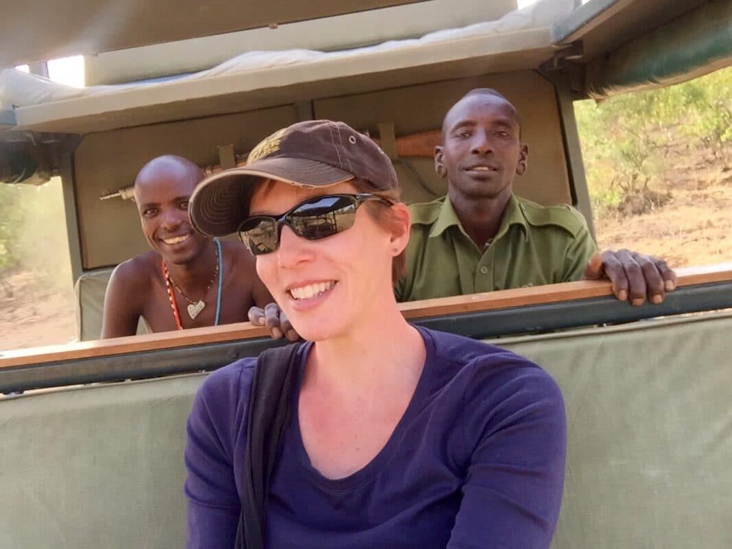Susan Portnoy Enjoying Kenya