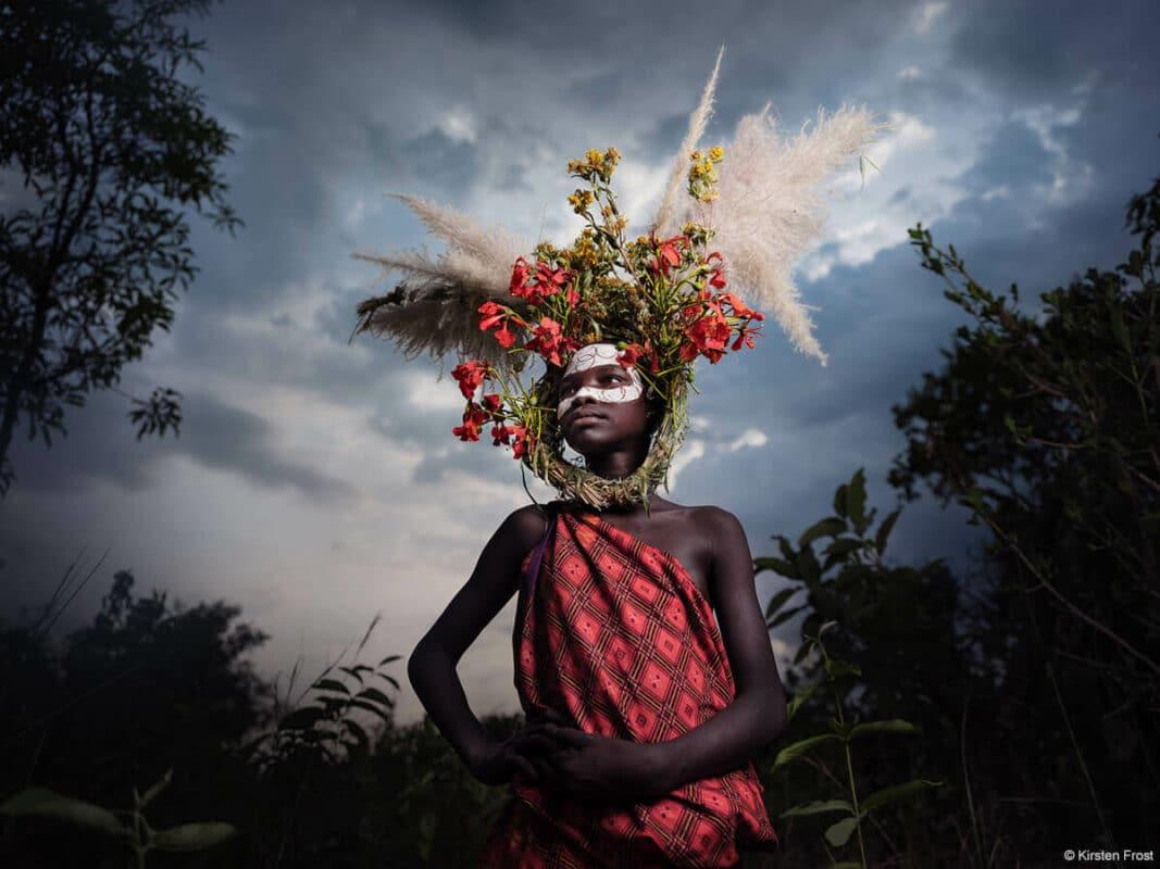 Villager in Ethiopia