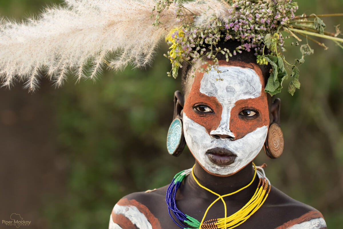 Villager in the Omo Valley