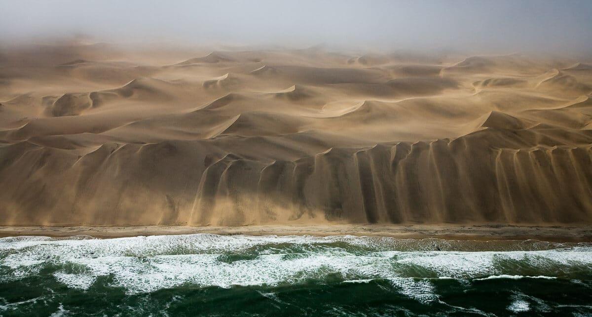Skeleton Coast from Above, Namibia