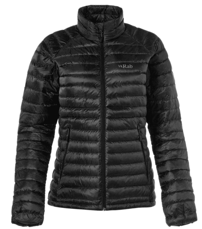 RAB Microlight Jacket - Women's for your winter cold weather vacation and packing list