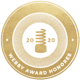 2020 Webby Award Honoree
