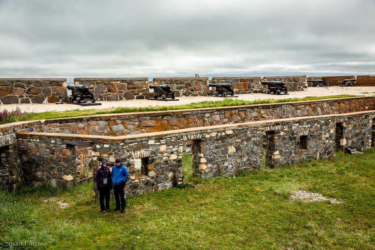 Canons and walls of the Prince of Wales Fort - one of the most popular things to do in Churchill, Manitoba