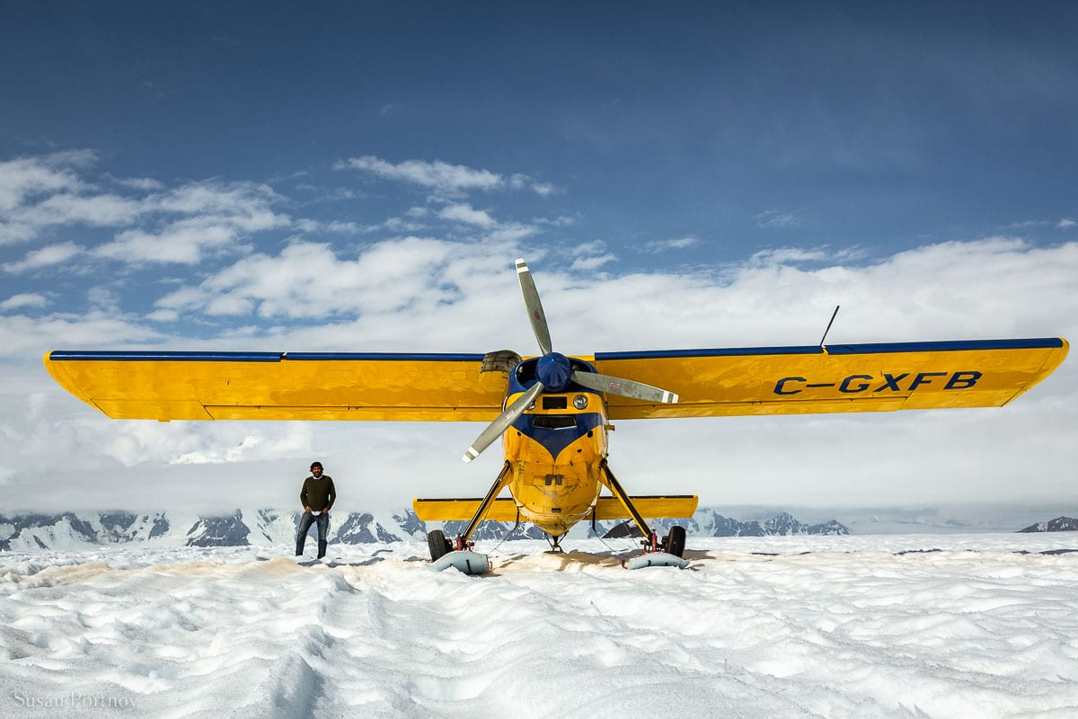 Sherpal from Icefield Discovery in Kluane National Park