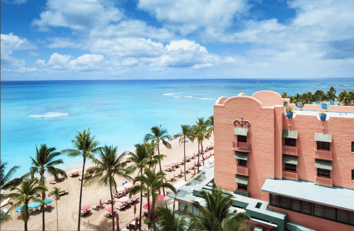 Royal Hawaiian Hotel, Oahu