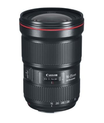 Canon EF 16-35mm f/2.8L 1 USM Lens