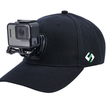 Smatree Baseball Hat with Quick Release Buckle Mount