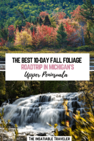 AN EPIC 10-DAY ROAD TRIP FOR FALL FOLIAGE IN MICHIGAN'S UPPER PENINSULA