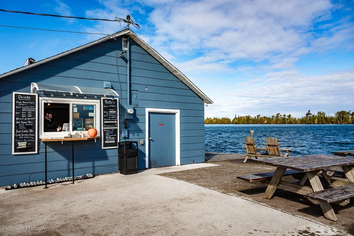 Jamsen's Fish Market and Bakery in Copper Harbor, MI
