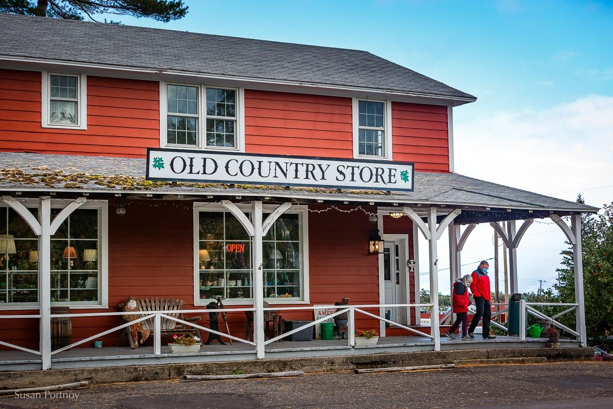 Old Country Store in Copper Harbor, Mi