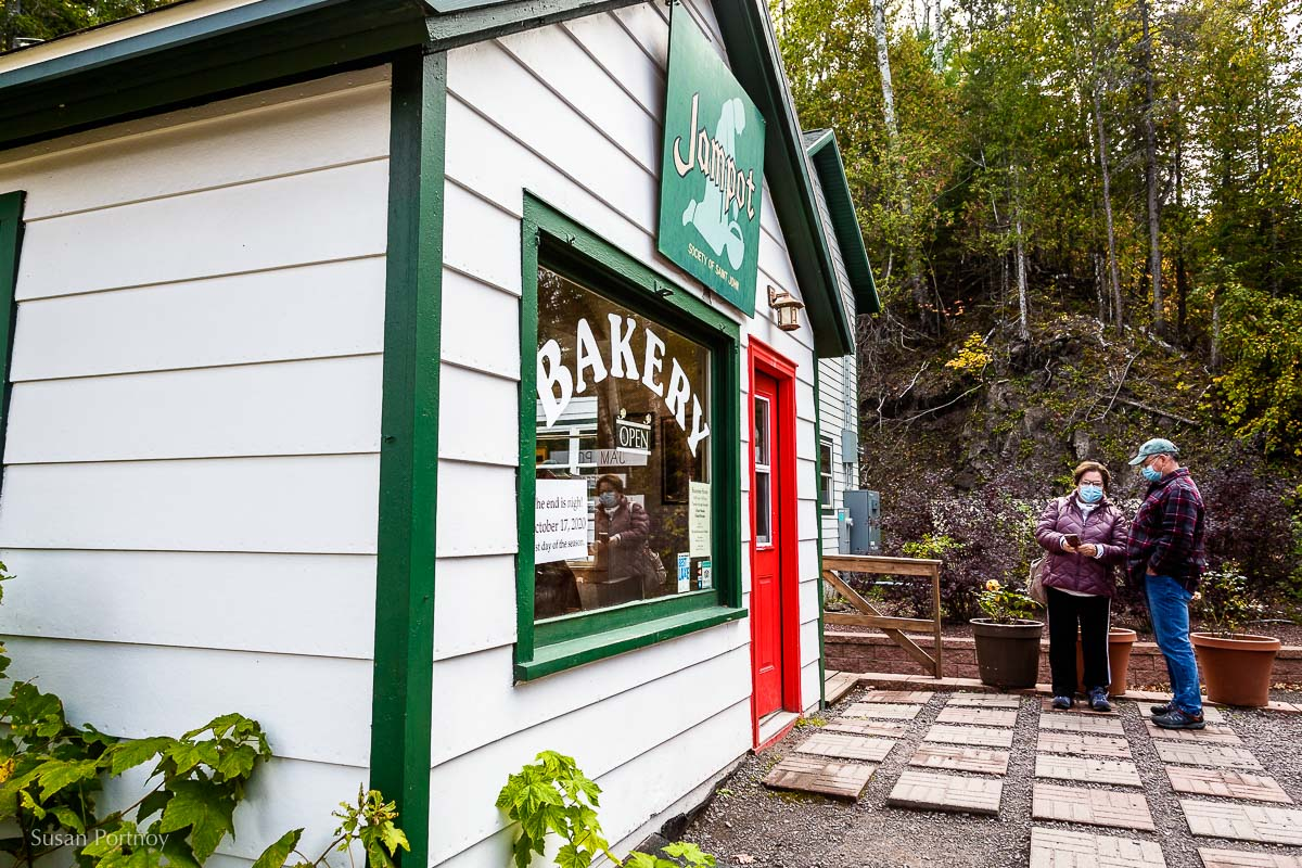 The outside of the Jampot in Keweenaw